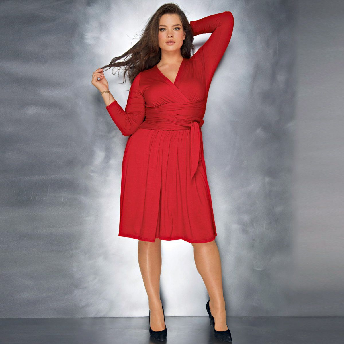 La redoute dress for christmas plus size and reasonably prized