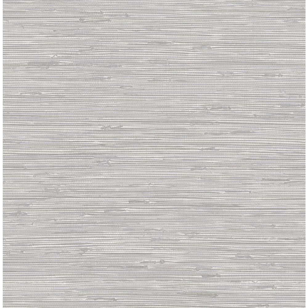 Nuwallpaper Tibetan Grasscloth Silver Silver Wallpaper Sample Nus3340sam The Home Depot In 2020 Nuwallpaper Grasscloth Wallpaper Peel And Stick Wallpaper