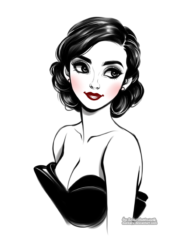 Mujeres Dibujos Bonitos