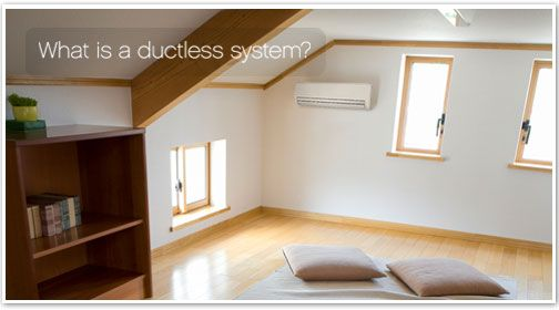 Carrier ductfree air conditioning systems provide heating and