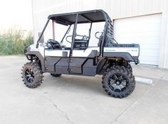 Steve's Mule PRO-FXT CATVOS lift with arched front and rear
