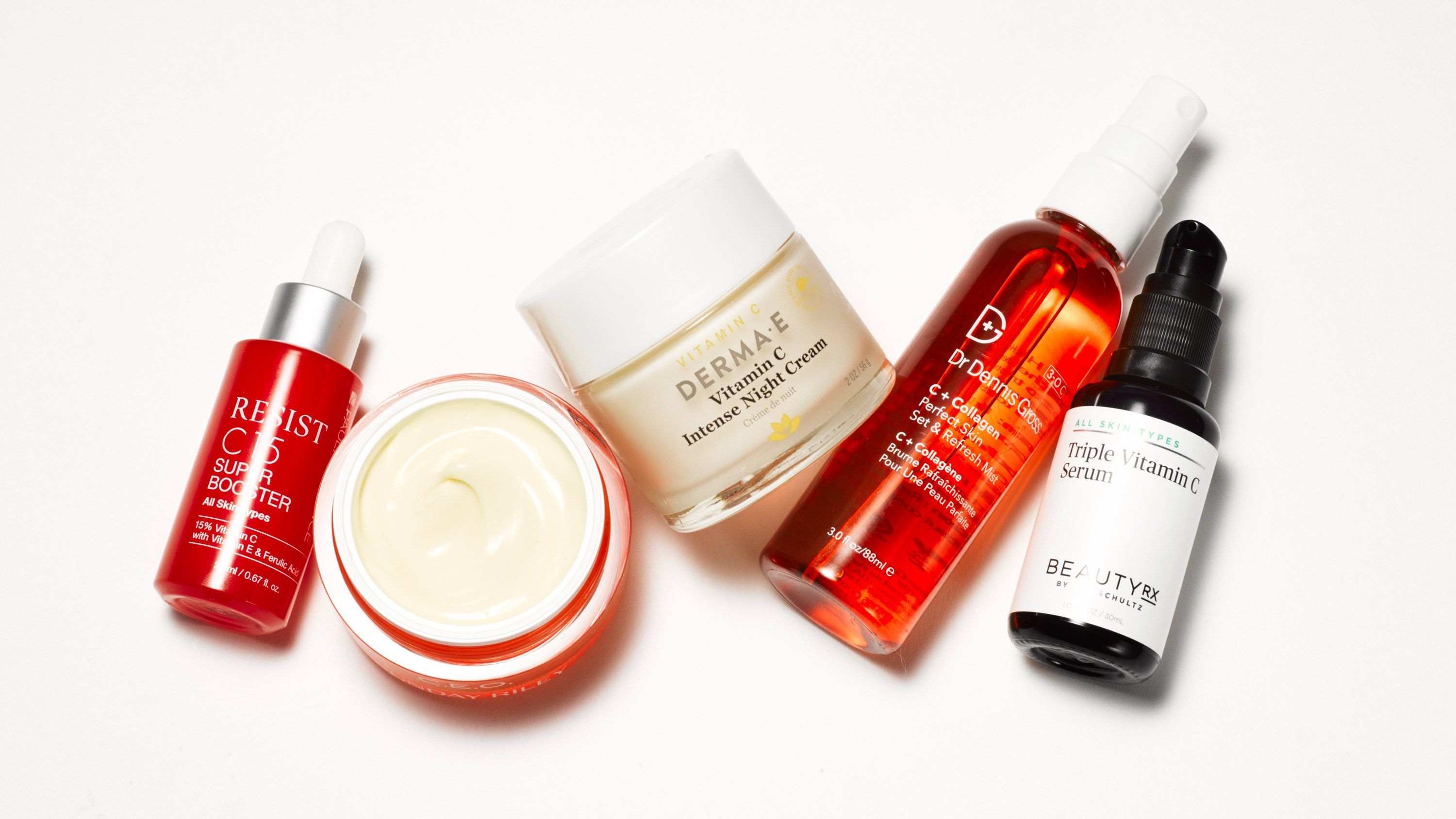 The Best Vitamin C Skin Care Products For Brighter Skin Best Vitamin C Serum Best Vitamin C Vitamin C Cream