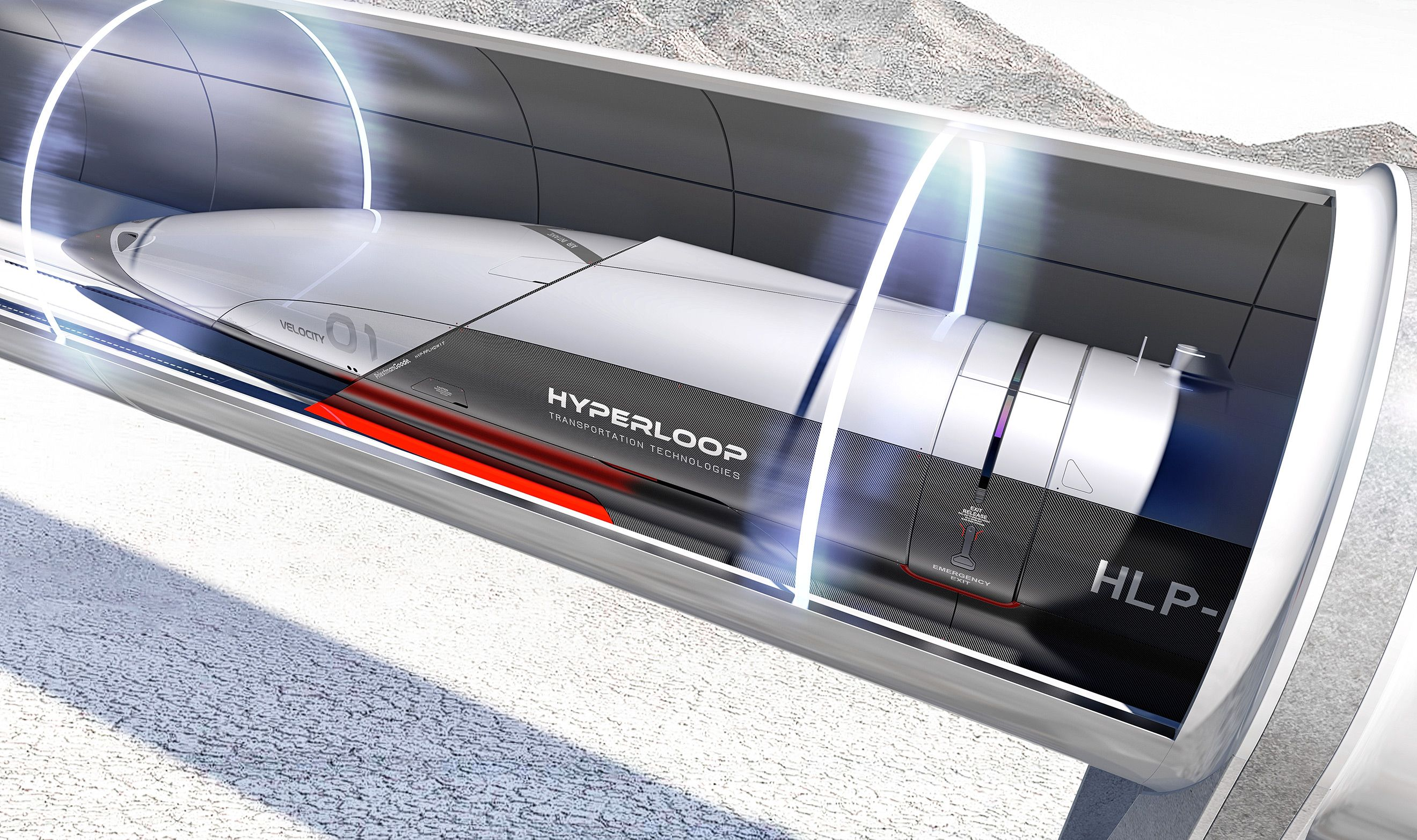 Hyperloop initial concept — PriestmanGoode | London design ...
