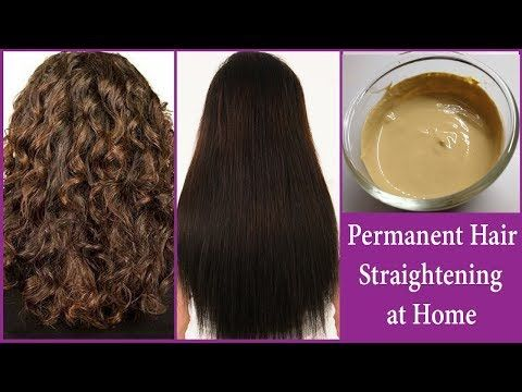 Permanent Smooth Hair Straightening At Home Instant Permanent
