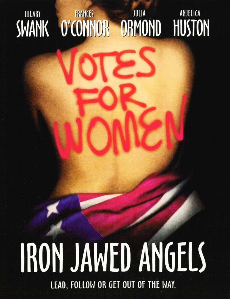 """""""Iron Jawed Angels"""" an engaging and well done movie about the suffrage movement. One of my favorites!"""