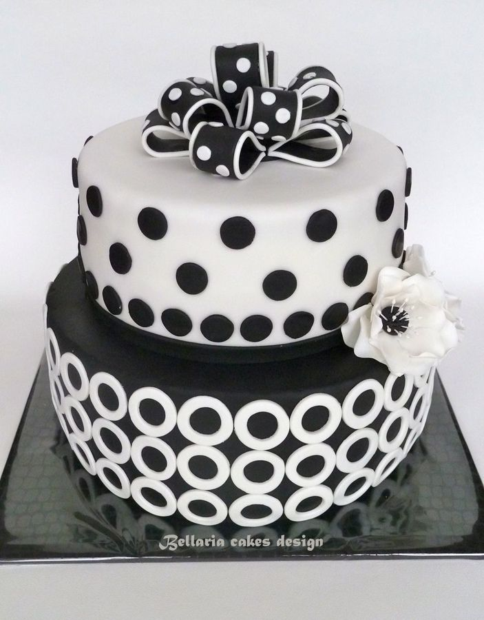 Astounding Black And White Birthday Cake With Images White Birthday Cakes Funny Birthday Cards Online Alyptdamsfinfo