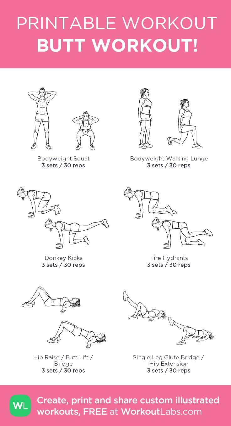 Selective image intended for printable workouts at home