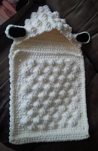 Sheep Baby Sleep Sack pattern by Alicia Cromwell | K1 DC2 Baby ...