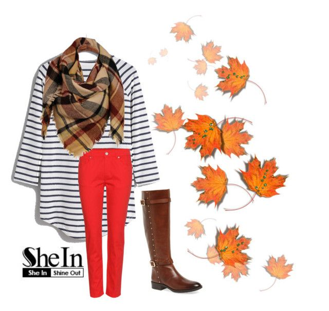 """She In Fall...."" by dastika on Polyvore featuring Alexander McQueen, Vince Camuto and Sylvia Alexander"