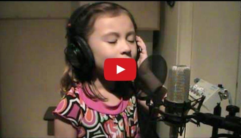 O Holy Night - Incredible child singer 7 yrs old - Must Watch Video - Lyrics