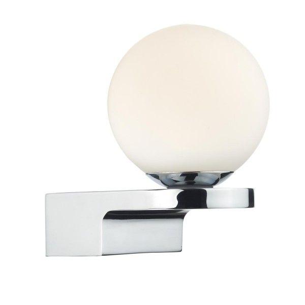 Cambridge Lighting JETTY LED Bathroom Wall Light In Chrome