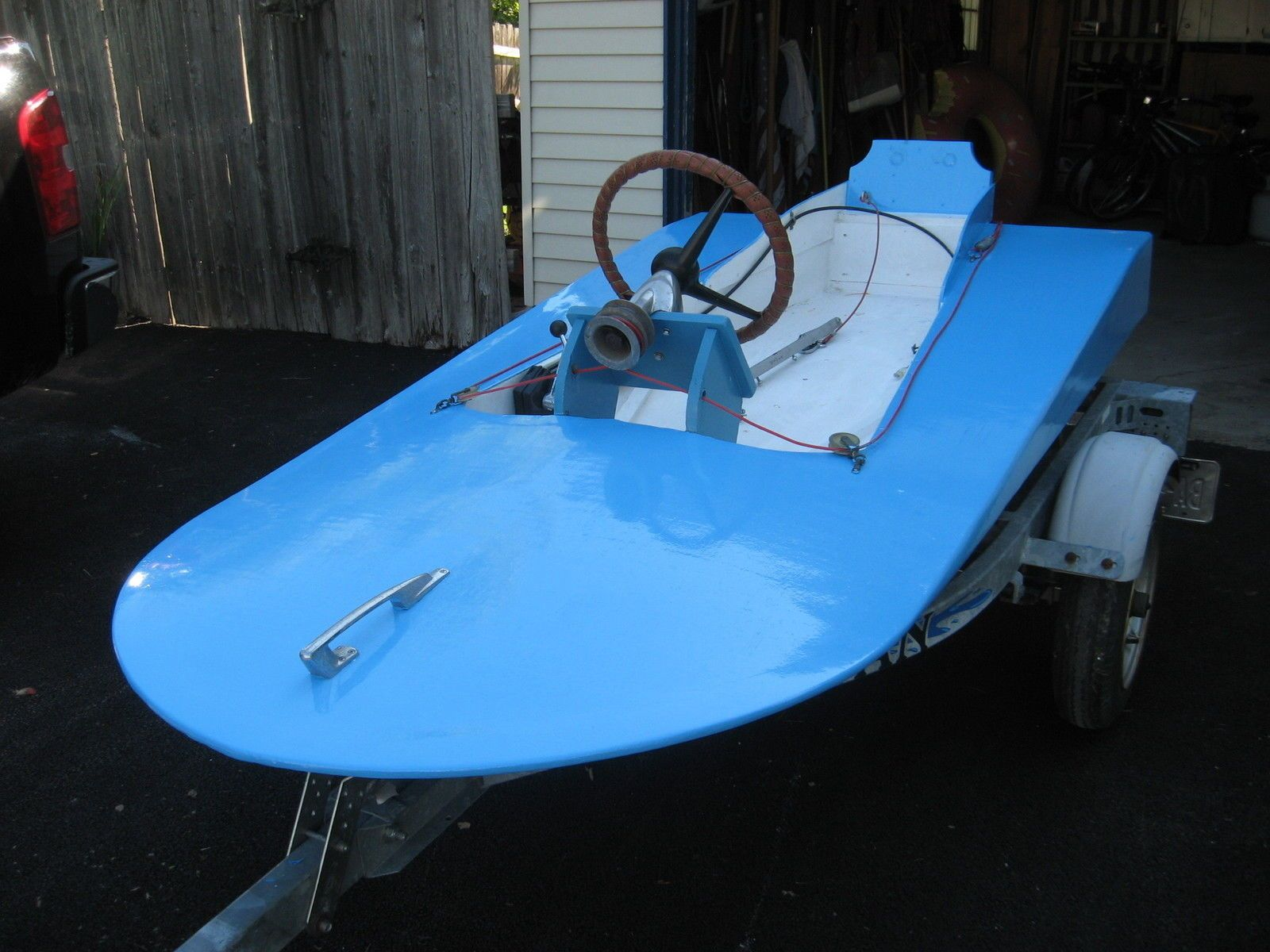 Home Built Mini Max Hydroplane 2010 For Sale For 350 Boats From Usa Com Hydroplane Hydroplane Boats Classic Wooden Boats