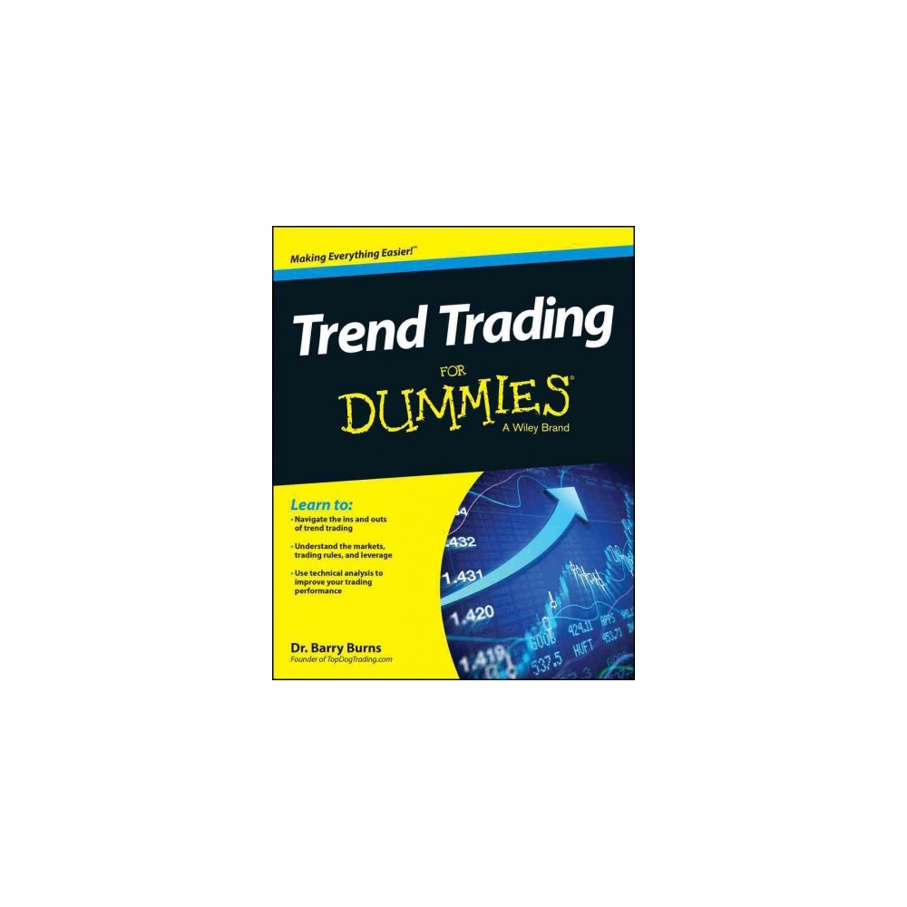 Trend Trading For Dummies Paperback Investing Strategy How To