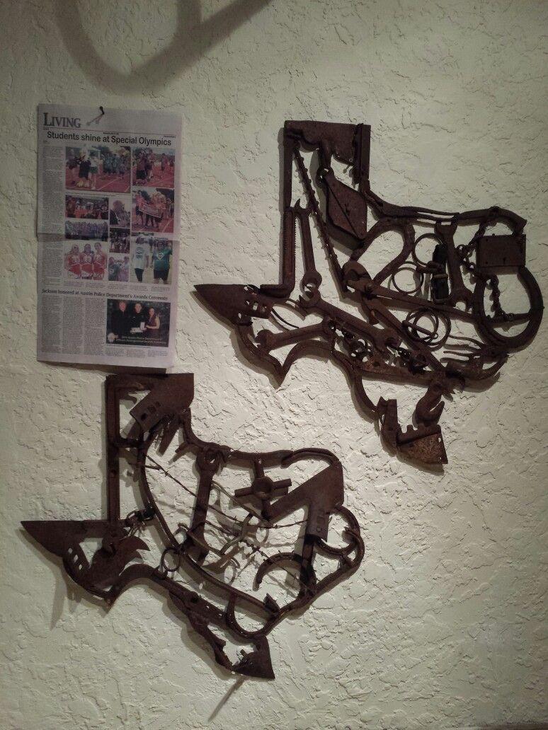 Texas metal art my metal art available for sale pinterest