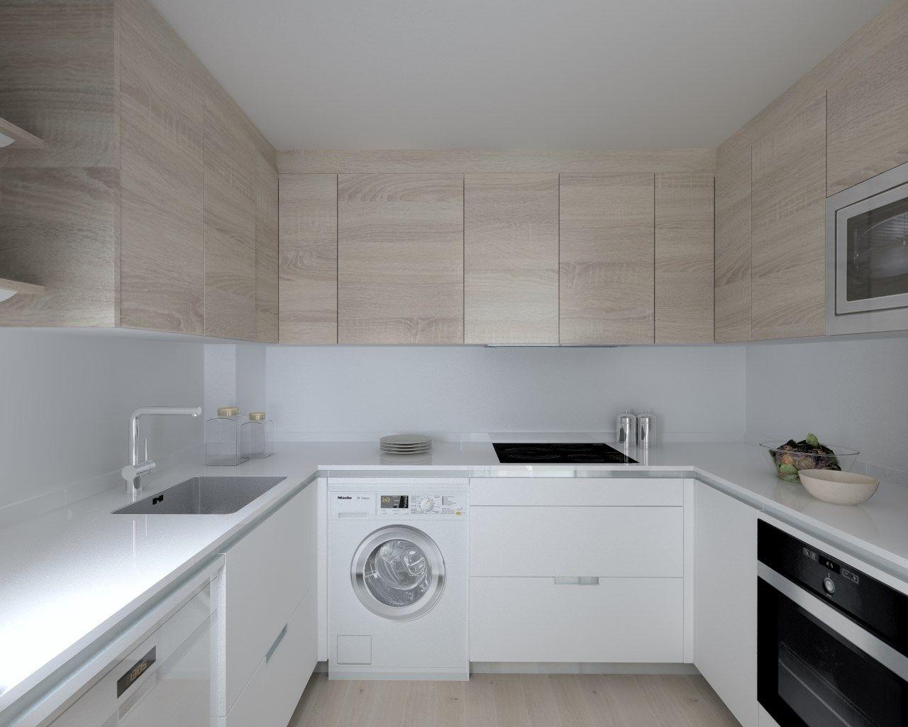 Proyectos de cocina en madrid cocinas dc pinterest for Cocinas claras modernas
