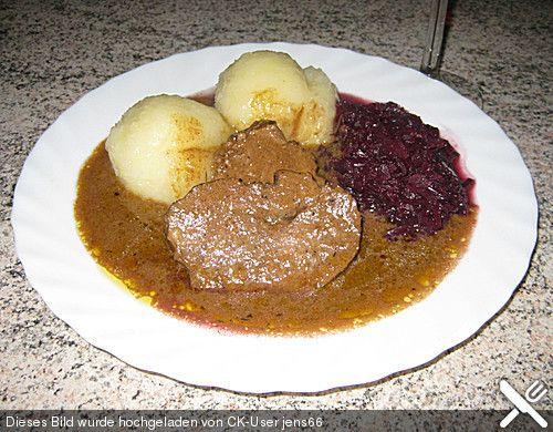 fr nkischer rehbraten franken rezepte bayerische rezepte food pinterest rehbraten. Black Bedroom Furniture Sets. Home Design Ideas