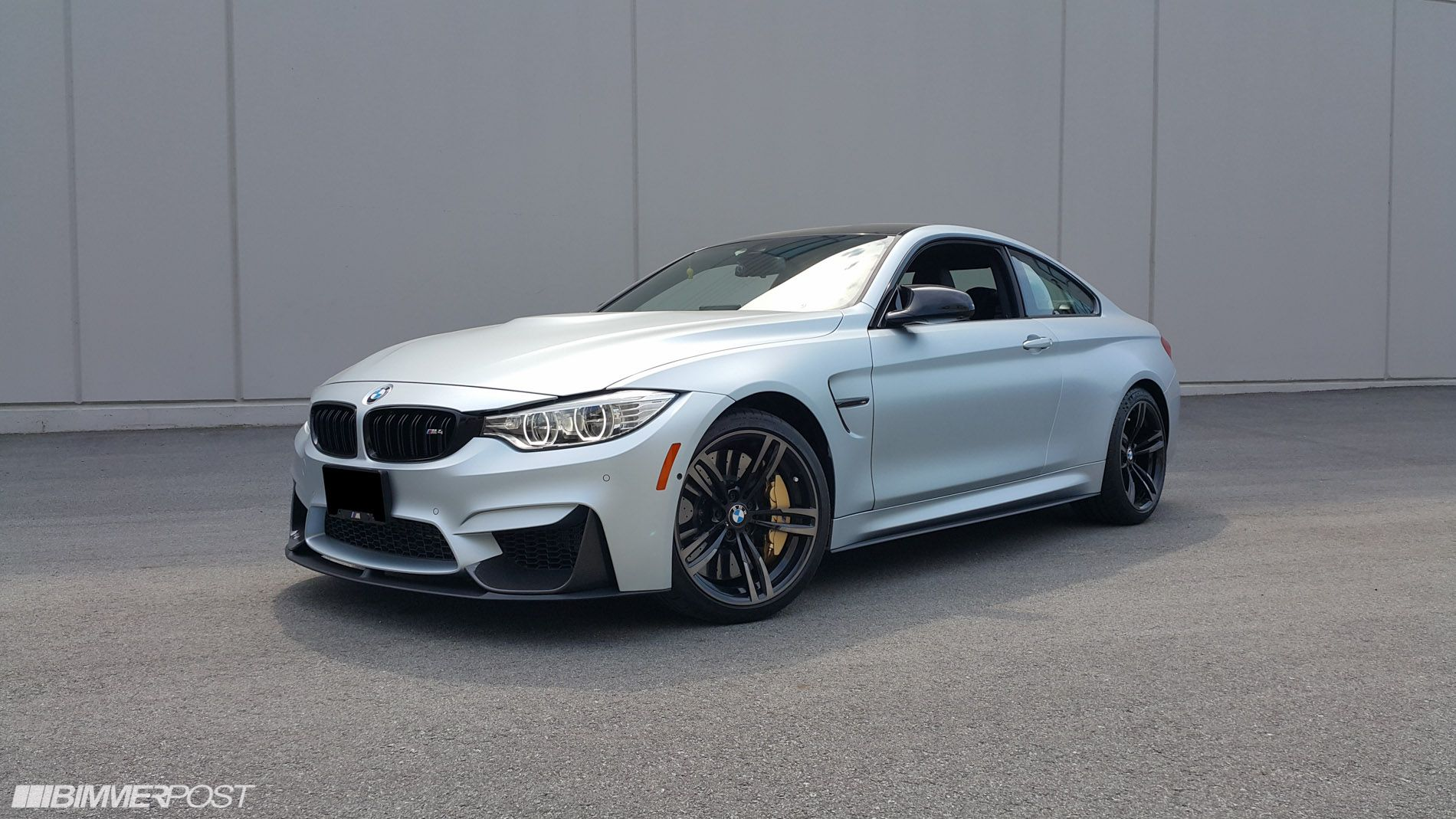 Frozen Silver M4 Individual With M Performance Parts Cars Bmw