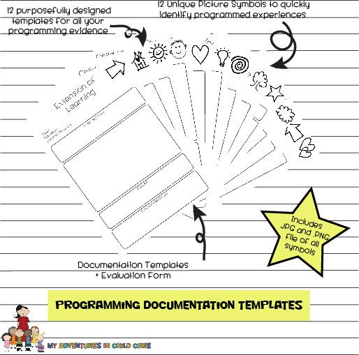 PDF EYLF Programming Templates Template Early Childhood And - Early childhood education lesson plan template