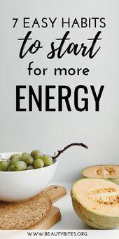 7 einfache Gewohnheiten für mehr Energie, Gesundheit und Klarheit! Machen Sie diese he ...   - Women...