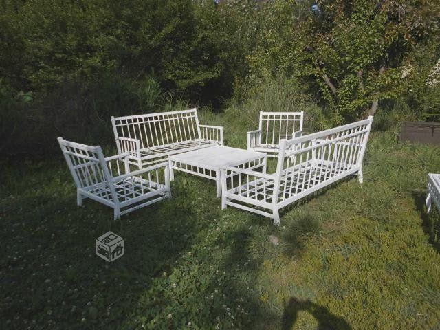 Muebles fierro terraza Andres Gasman | Artesania en muebles de ...