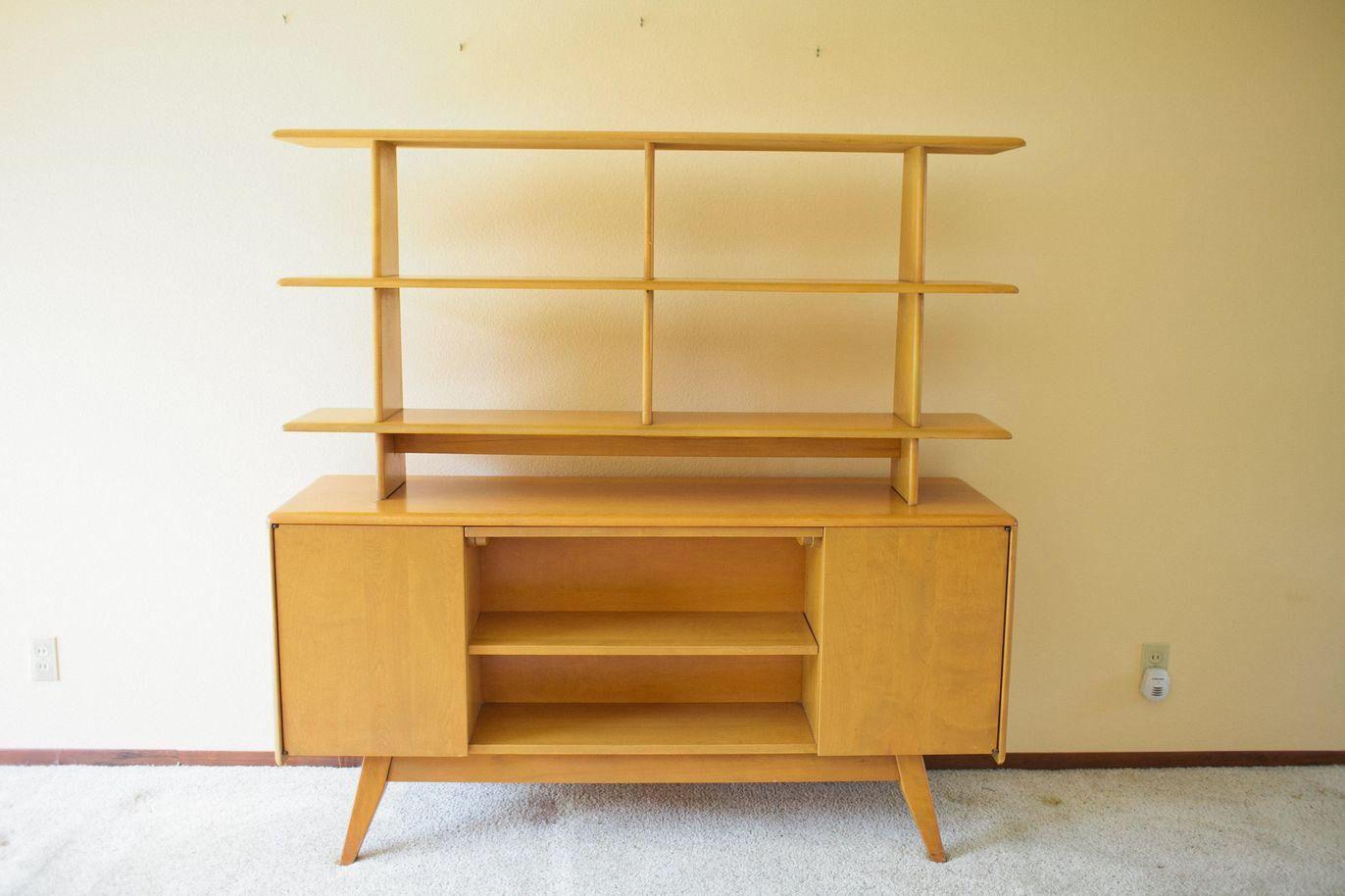 Heywood wakefield mid century modern room divider on chairish