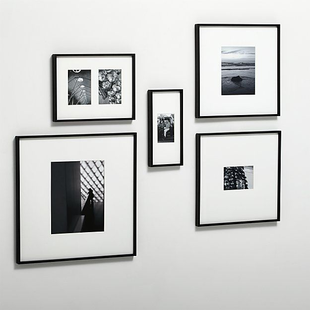 Gallery black 11x14 picture frame | Pinterest | Display, Modern and ...