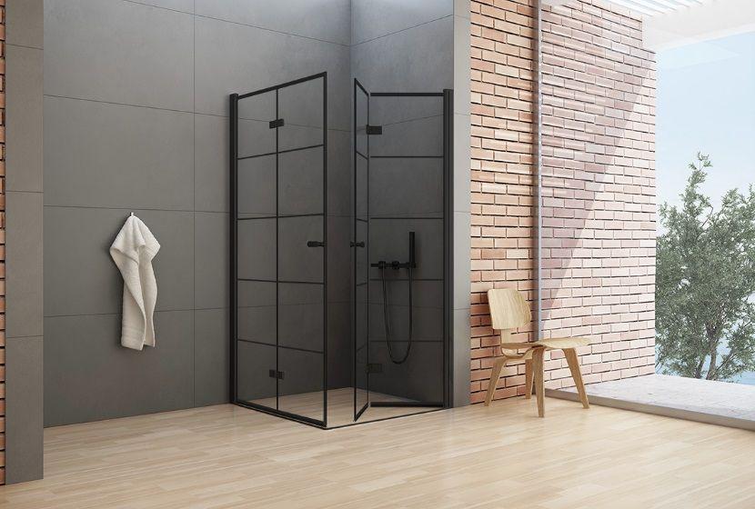 Kabina Prysznicowa Z Czarnymi Profilami New Trendy New Soleo Black Newtrendy Domowerewolucje Bathroomshower Prysznico Shower Cabin Room Divider Home Decor