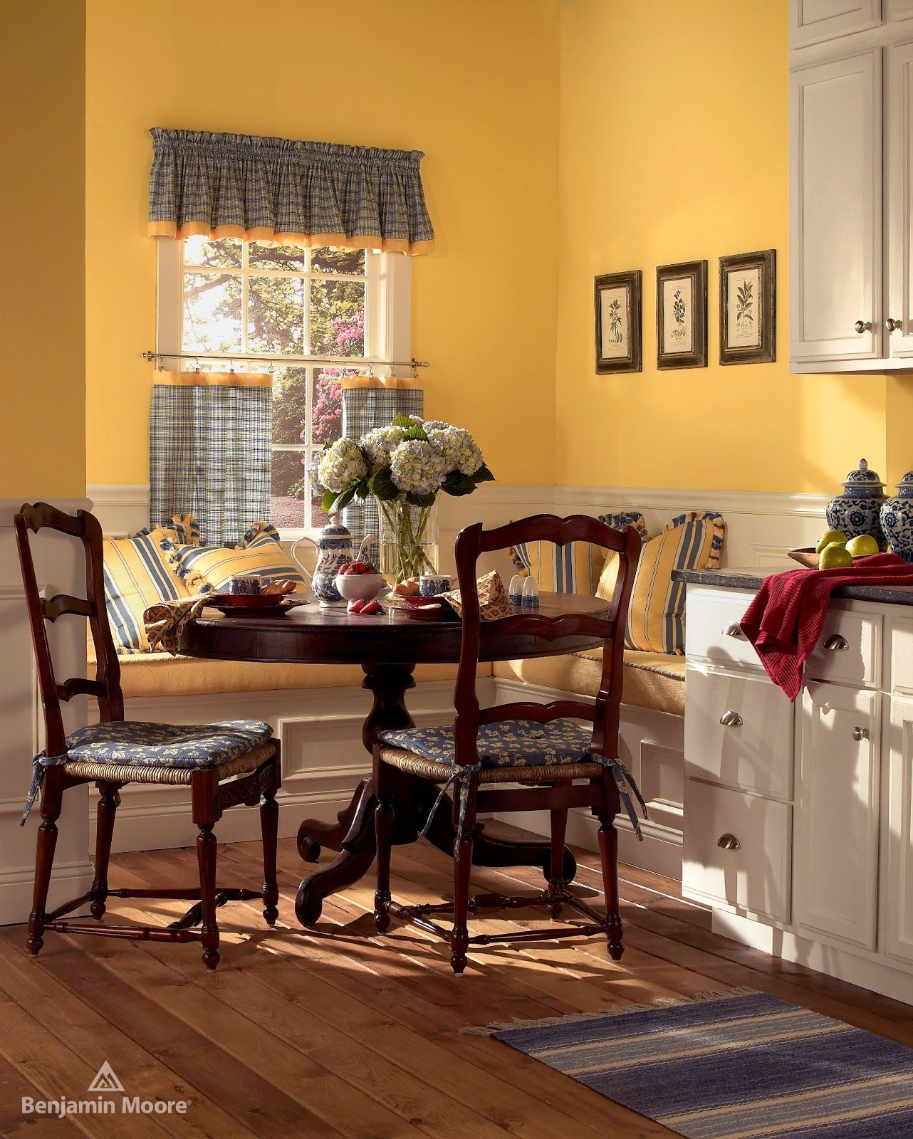 Cheerful Summer Interiors 50 Green And Yellow Kitchen: 2155-50 Suntan Yellow By Benjamin Moore. Factory Paint