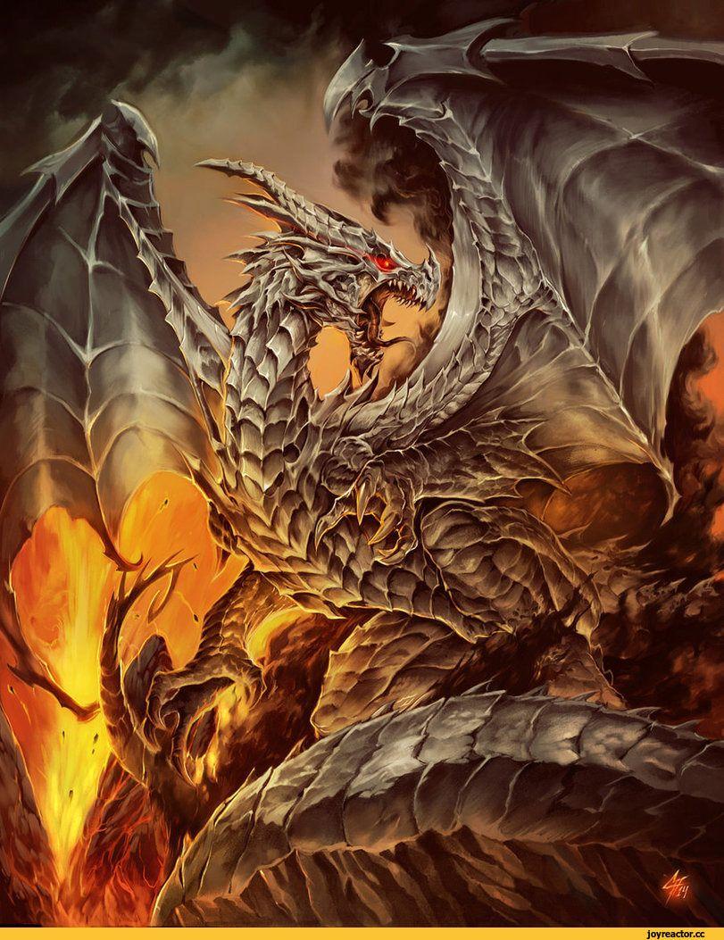 Изображение дракона на картинке