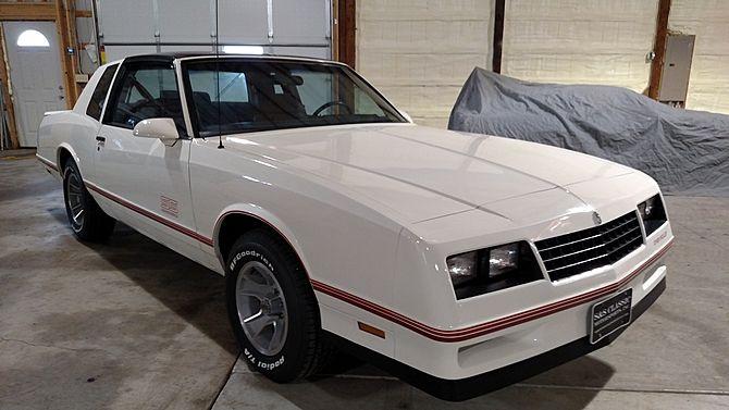 1987 Chevrolet Monte Carlo Aerocoupe 305 Ci T Tops Mecum Auctions Chevrolet Monte Carlo Chevrolet Monte Carlo