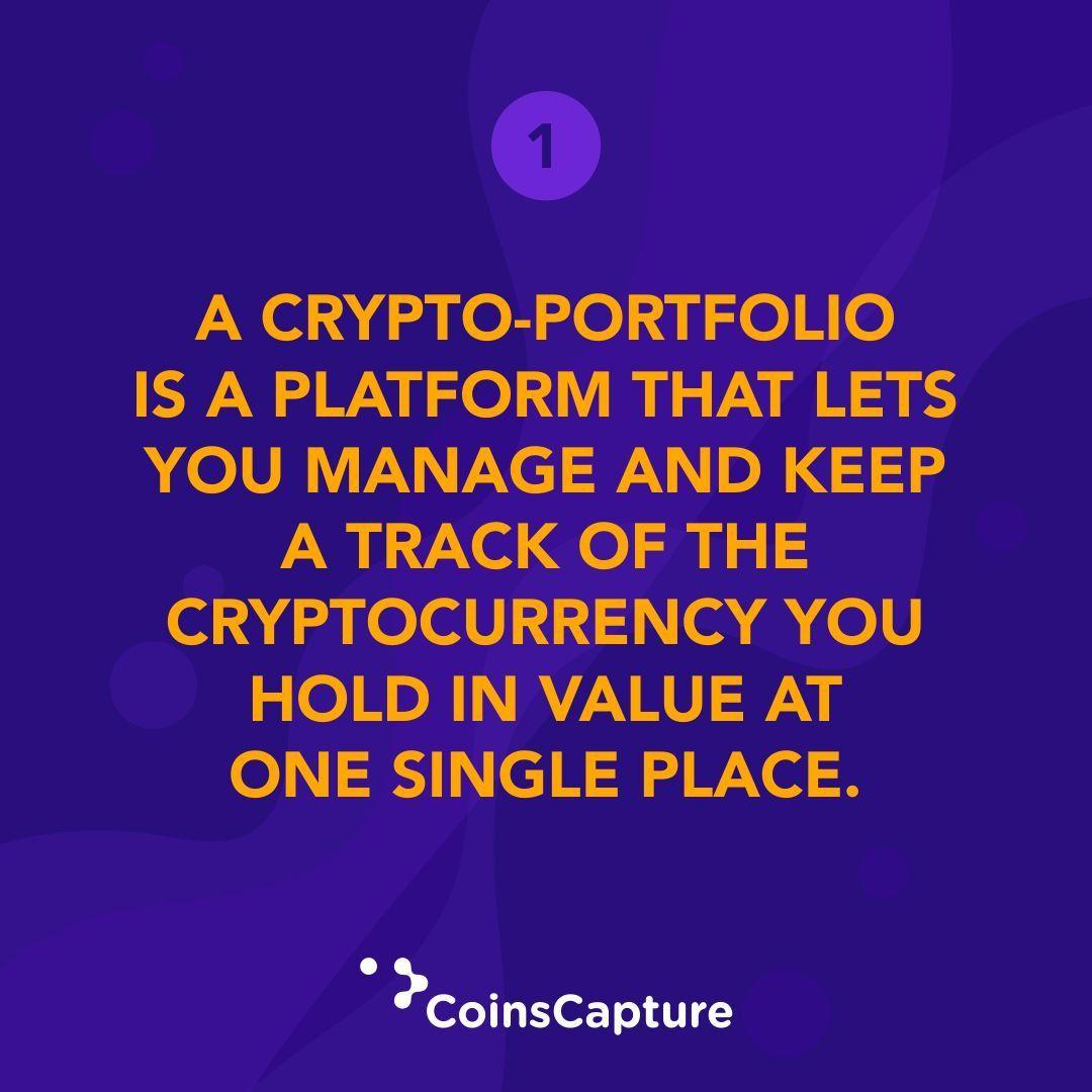 Things To Learn About CryptoPortfolio in 2020 Portfolio