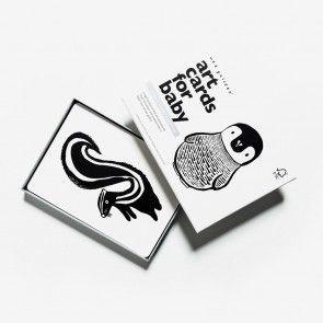 Baby Art Cards Black&White