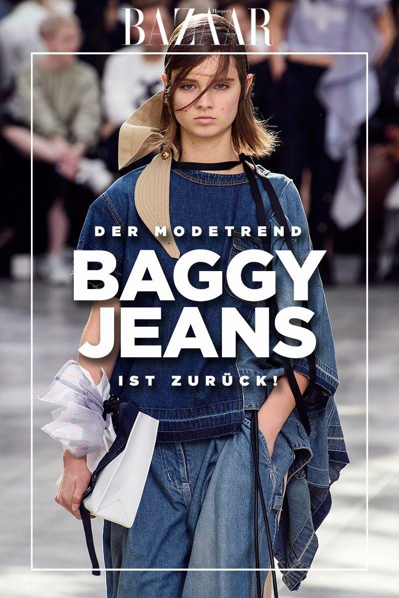 Ein Modetrend ist zurück: So trägt man heute Baggy Jeans