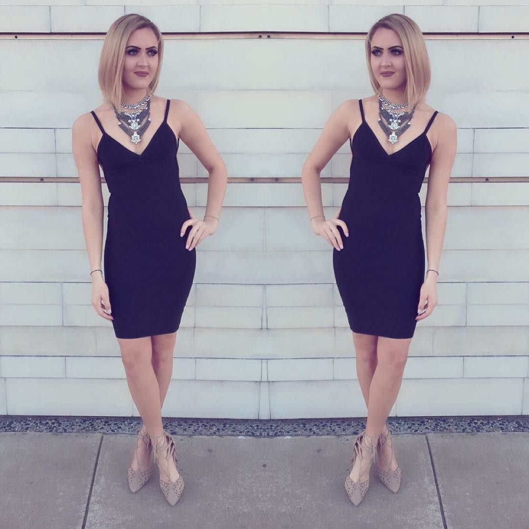 Loving the new LBD  Savannah Dress Paige Necklace