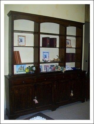 Libreria archivio lombarda 4 ante 247lx255hx42p | Antiques ...