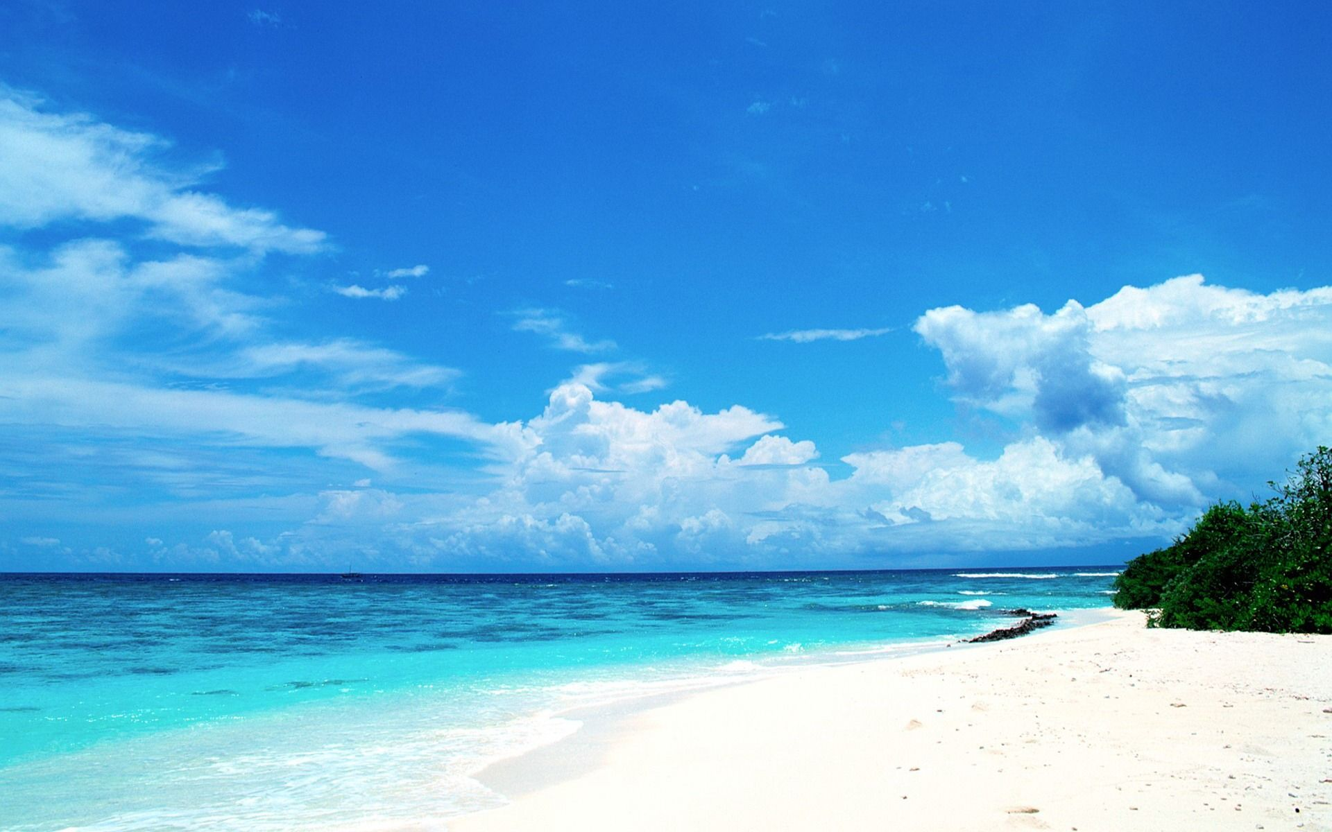 Beach Houses | Blue Honeymoon Paradise Maldives Wallpaper | HD Widescreen  Wallpapers