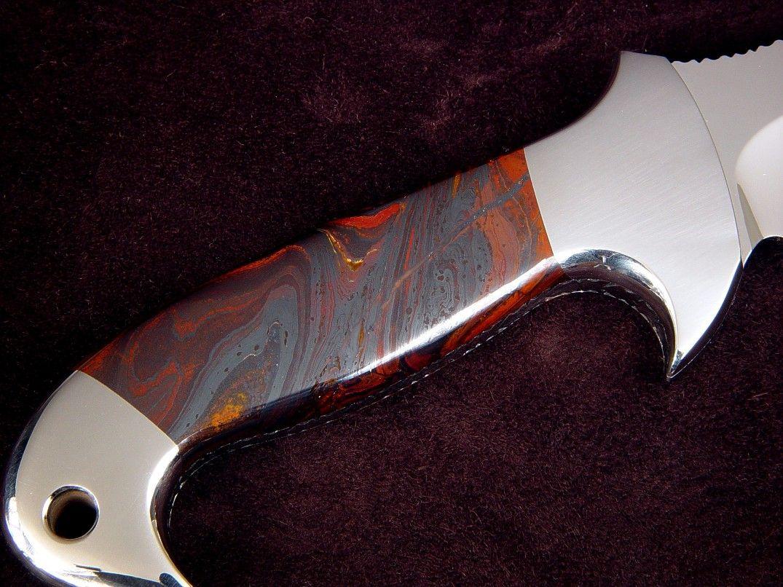 Jay Fisher gemstone handle knife | Knives | Pinterest | Knife handles, Handle and Custom knives