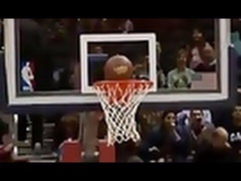 Hawks Fan's Impossible Halfcourt Shot
