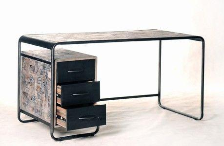 Schreibtisch industriedesign  Retroindust Industriedesign Schreibtisch Bureau Schreibtisch ...