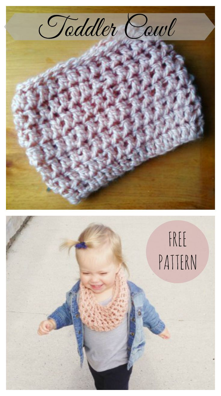 Crochet Toddler Cowl - Free Pattern | DIY/GIY | Pinterest | Crochet ...