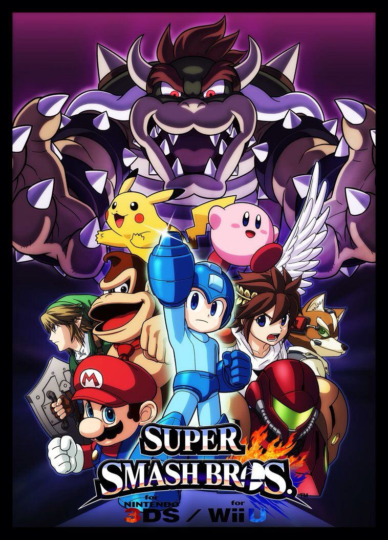 Super Smash Bros Wii U 3DS Me And My Brother Cant Wait Till