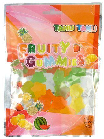 Halal fruity gummies 100 g