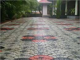 Image Result For Interlock Paving Tiles Kerala Contemporary Rug