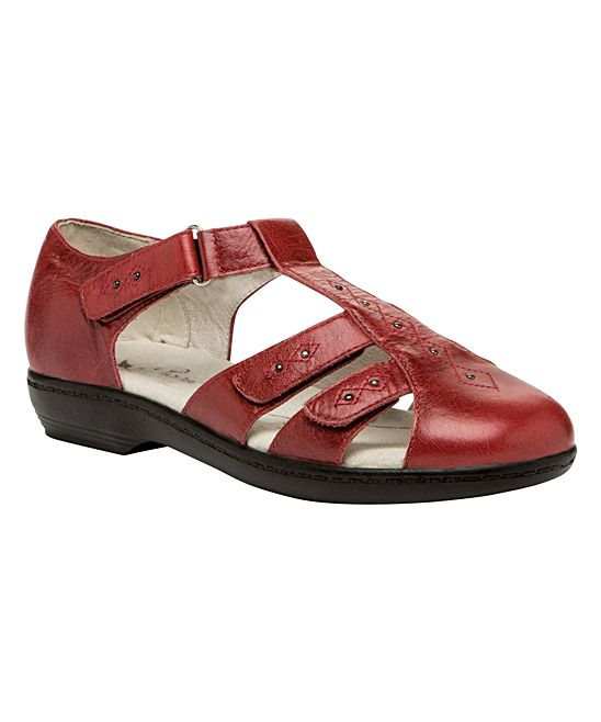 2fe0bfa9f Cayenne Closed-Toe Heather Leather Sandal - Women