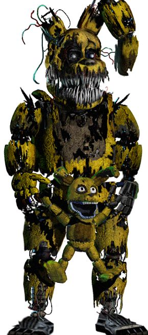 Five nights at freddy's 4 springtrap   Five nights at