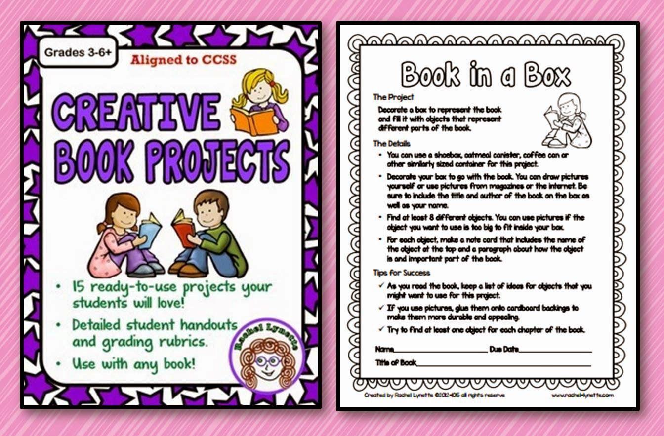 book report ideas for 3rd grade