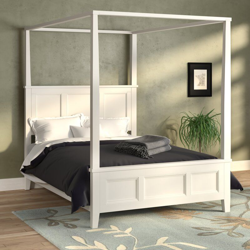 Barnard Canopy Bed Reviews Joss Main Queen Canopy Bed Canopy Bed Adjustable Beds