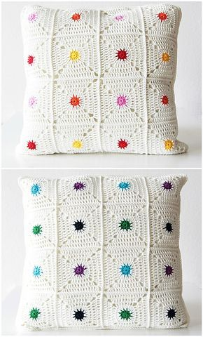 Hot Spot Pillow Pattern By Kirsten Ballering Ravelry Pillows And