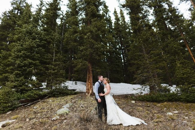 Colorado Loveland Pass Wedding 59