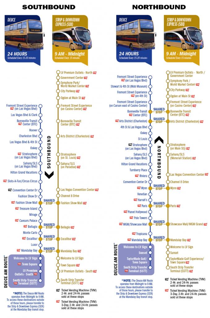 the deuce las vegas map Pin On Travel